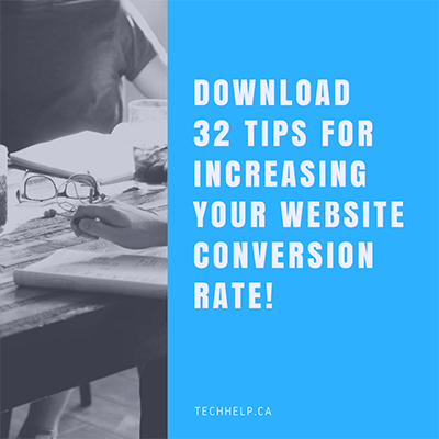 Download 32 Ways to Increase Your Website Conversion Rate