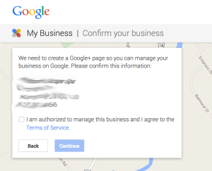 Getting an authorization code to manage Google Plus page
