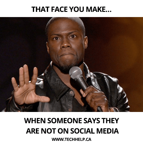 Funny meme on social media strategy