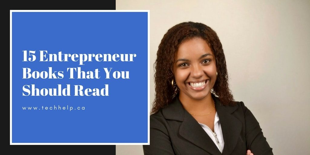 Entrepreneur books that you should read