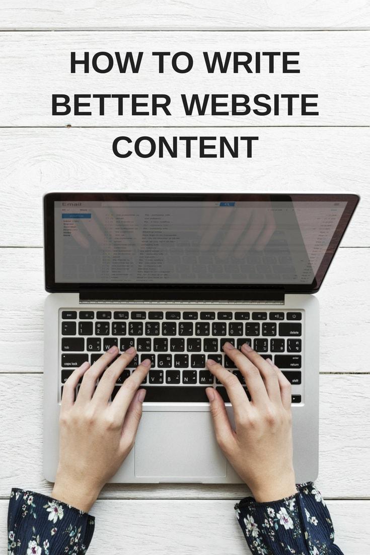 website content guide