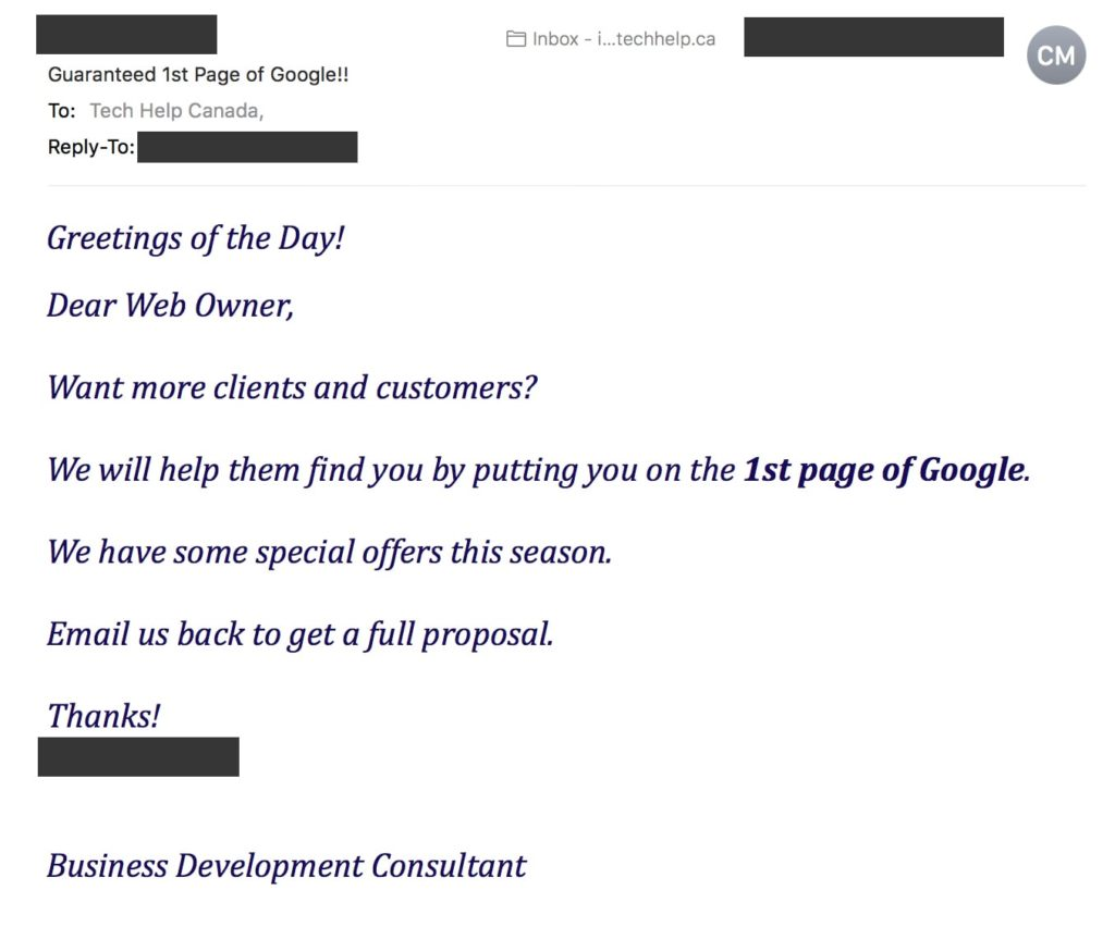 The Problems With Bad SEO Companies and Consultants