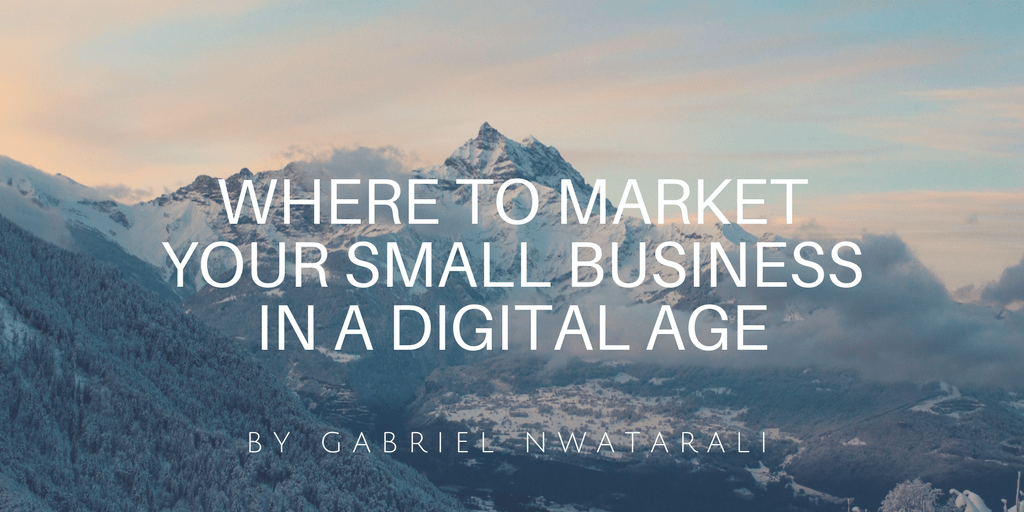 where to market your small business