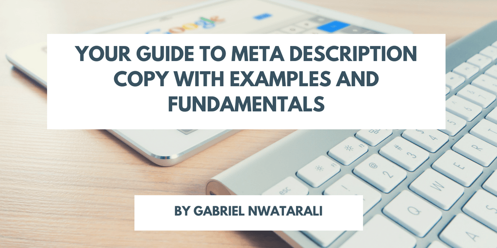 meta description examples and fundamentals